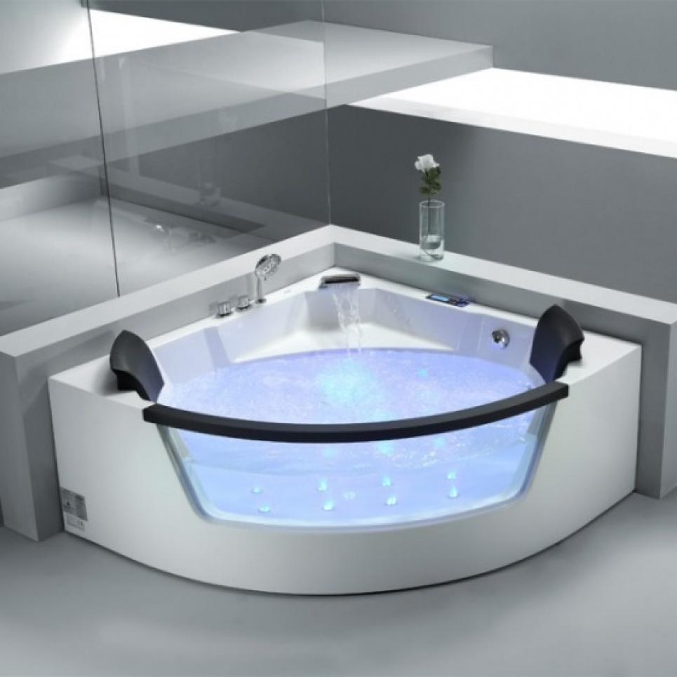 Extreem Ligbaden,vrijstaande baden, massieve design baden, whirlpool baden  NG12