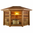 Sauna LT1501B red cedar