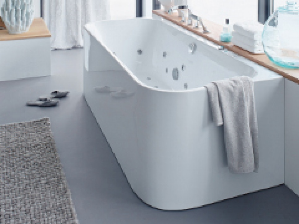 Half vrijstaande baden