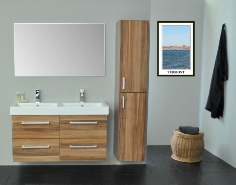Sanicare vermont 120 badmeubel - Kamer wit houten bad ...