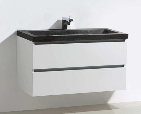 - HB Design badmeubel greeploos X220 80cm
