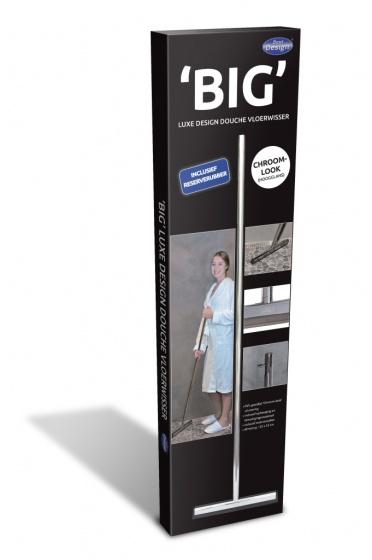 Vloerwisser Badkamer Design : Hb design big luxe douche vloerwisser ...