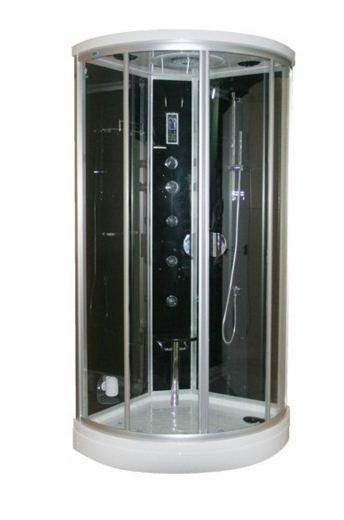 Revital - Stoomcabine Black & White 100x100