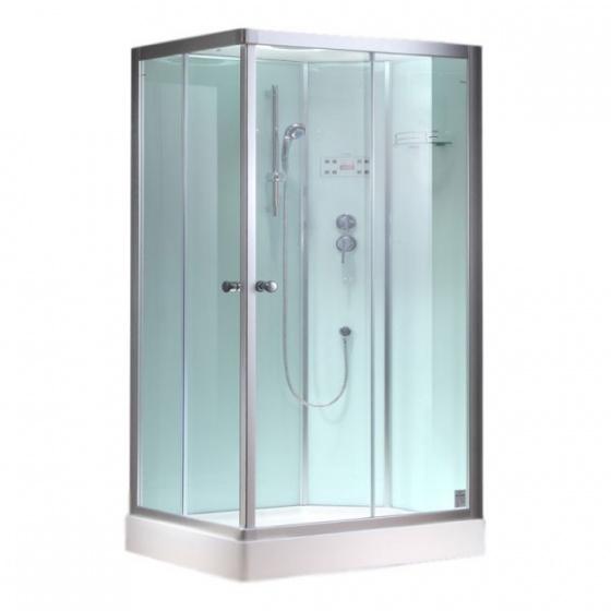 Eago gesloten douchecabine 1000 4gh 100x80 rechts - Italiaanse gesloten douche ...
