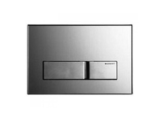 geberit sigma 50 afdekplaat 2 knops glas grijs. Black Bedroom Furniture Sets. Home Design Ideas
