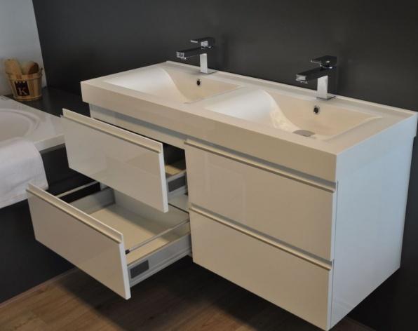 HB Design - Herman badmeubel 4 laden  120cm