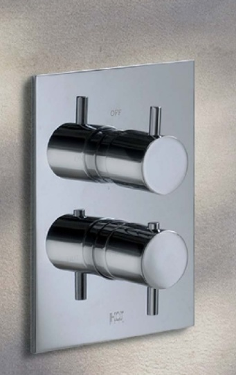 Hotbath  - Laddy 009 inbouw douche thermostaat