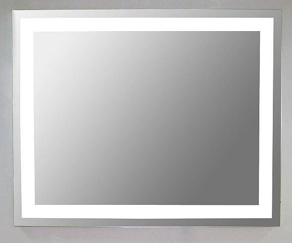 Erstaunlich Sanistar Quadrato spiegel met verlichting 80cm   Hornbad  BE86