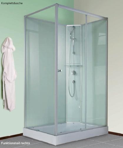 Complete douchecabine mk450 120x90 - Italiaanse gesloten douche ...