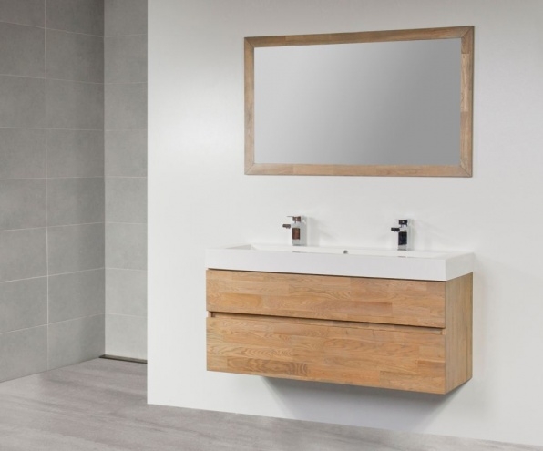 Badkamer Onderkast Hout : Badkamer meubel model maison design risofu