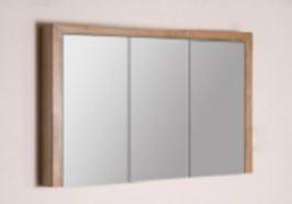 Natural Wood spiegelkast 120cm | Hornbad Zoeterwoude-Rijndijk ...