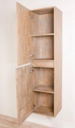 kolomkast badkamer hout – devolonter, Badkamer