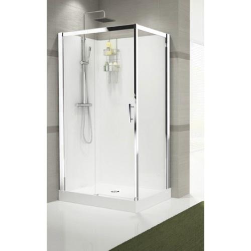 Sanistar s90 120 gesloten douchecabine hornbad zoeterwoude rijndijk - Italiaanse gesloten douche ...