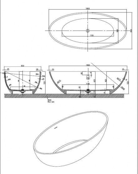 Best Design - MVSB5 glans wit