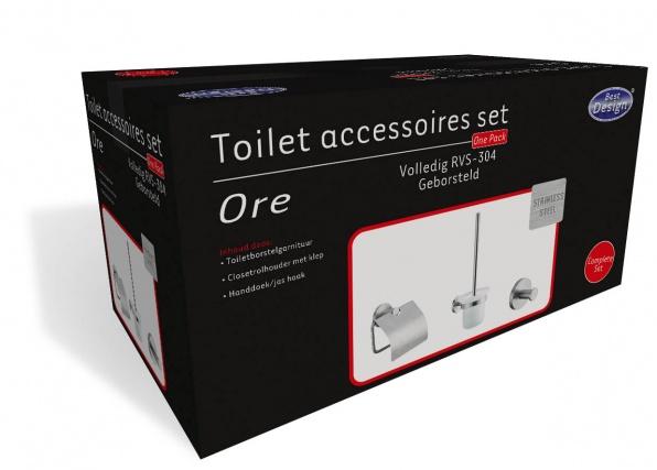 Best Design - Toilet accessoires set Ore