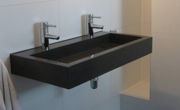 Wasbak Badkamer Kraan Sydati rubber gietvloer badkamer laatste design Get c # Wasbak Marike_081239