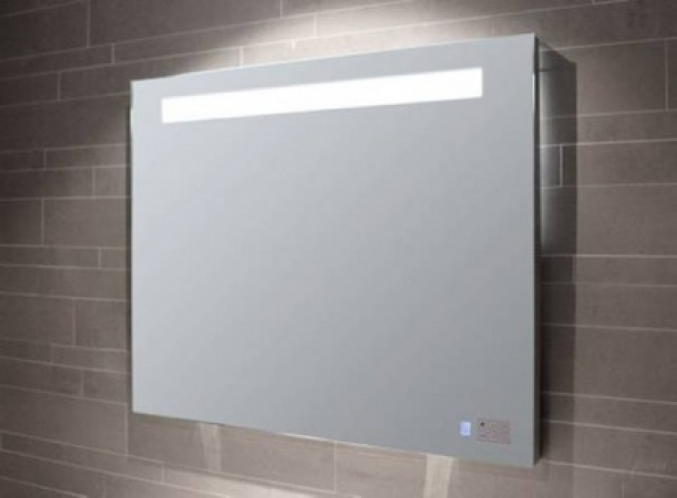 Spiegelkasten spiegel met verlichting spiegelverwarming for Spiegel badkamer verlichting