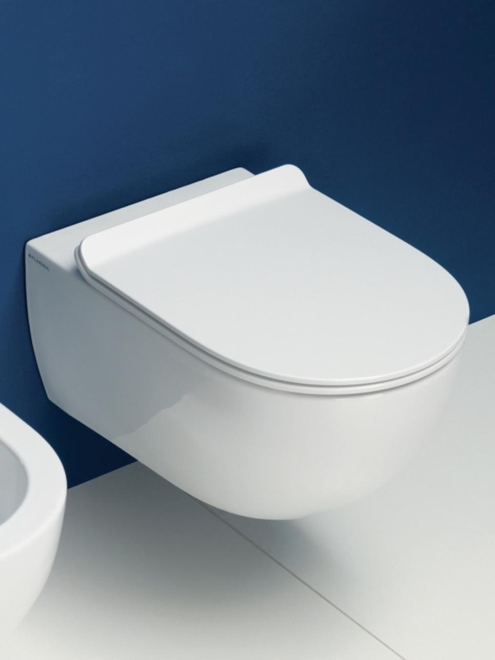 Spoelrand vrije toilets