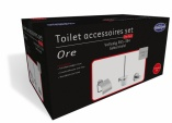 Toilet accessoires set Ore