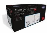 Toilet accessoires set Rome