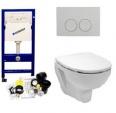 Toilet set actie HB Design Geberit inbouwreservoir