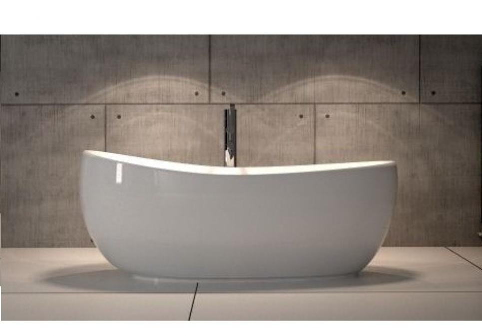 Whirlpool Baden Badkamer ~ Ligbaden,vrijstaande baden, massieve design baden, whirlpool baden