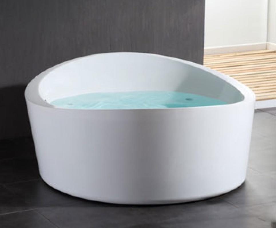 Vrijstaande baden voorzien van whirlpool