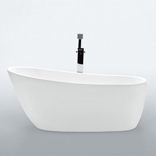 Vrijstaande baden MAT WIT