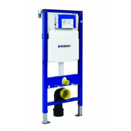 Geberit Duofix wc element voor bevestiging wandcloset met frontbediend UP320 inbouwreservoir