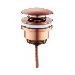 Wiesbaden luxe clickwaste 5/4 laag model geborsteld koper