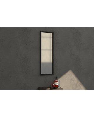 Spiegel Swiss Silhouette 25 spiegel 25x80cm zwart aluminium