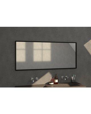 Swiss Silhouette 160 spiegel 160x70cm zwart aluminium