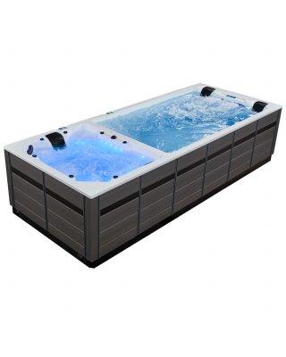 AWT Swim-SPA Innovation 590 Dual weiß/580x235/grau