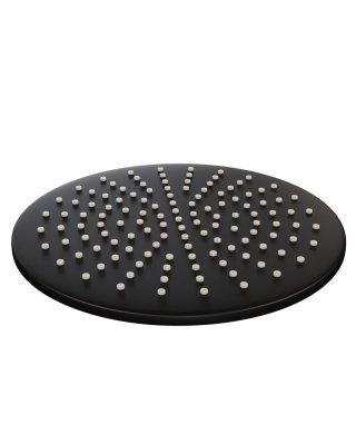 Brauer Black hoofddouche 20cm mat zwart