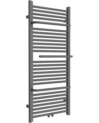 Design radiator White met Handdoek houder en midden aansluiting 180x55