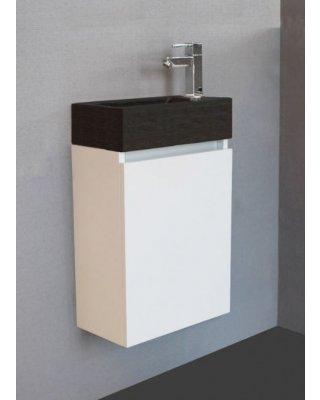 Toiletmeubel Emma Stone Hoogglans wit
