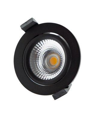 Badkamer inbouw spots LED 5WATT DIMBAAR -Zwart