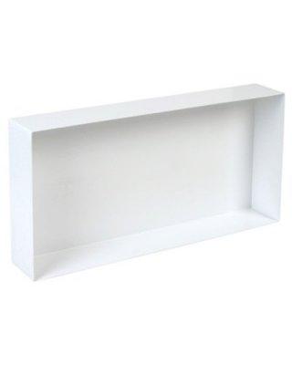 Inbouwnis 60x30cm wit Swiss voor badkamer