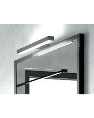 Vince spiegellamp LED met zwart frame