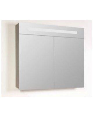 Sanistar spiegelkast 2.0 80cm Hoogglans wit