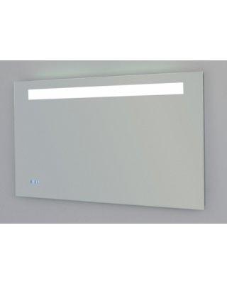 Exclusive Line 100 spiegel met verlichting en klok
