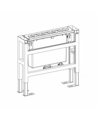 Steinberg Montageframe met montageplaat 100.9510