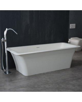 StoneArt Vrijstaand Badkuip BS-502 wit 179x80 mat of glanzend wit