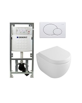 Villeroy & Boch Subway 2.0 compact toiletset Sigma01
