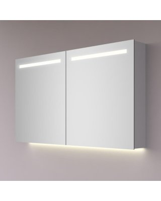 HIPP spiegelkast met LED banen en indirecte LED verlichting  en audioset