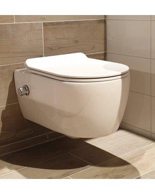 Swiss wandcloset Flush met bidet functie
