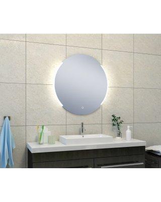 Round spiegel met LED verlichting & verwarming