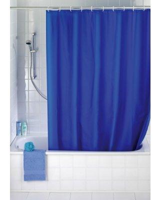 WO19149 - Douchegordijn Uni donker blauw