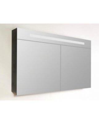 Sanistar spiegelkast 2.0 120cm Black Wood