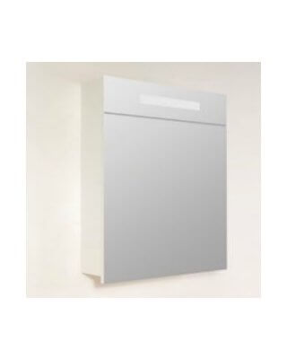Sanistar spiegelkast 2.0 60cm Hoogglans wit links